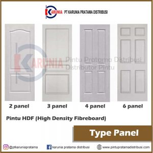 pintu hdf type panel